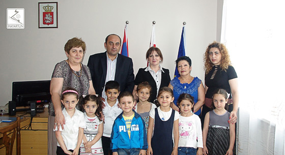 "The Graduates of St. Movses Khorenatsi Kindergarten of the ""Hayartun"" Center at the Diocese of the Armenian Apostolic Church in Georgia Will Go to Armenian School"