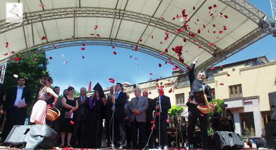 "The Traditional ""Vardaton"" (Feast of Roses) in Tbilisi"