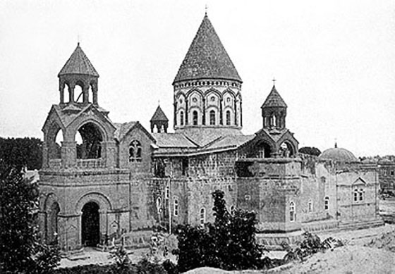 A Traveler Of Eternity Holy Etchmiadzin