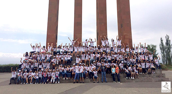"Georgian-Armenian Youth Participated in the RA Ministry of Diaspora's ""Ari Tun"" Program"