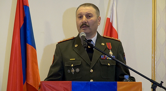 Address  By Colonel Samvel Ramazyan,  Defence Attaché of the Republic of Armenia  At the Diplomatic Reception on the Occasion of the 25th Anniversary  Of the Creation of the Armed Forces of the Republic of Armenia