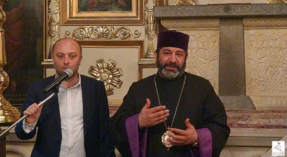 Welcome speech of the Primate of the Armenian Diocese in Georgia, His Grace Bishop                       Vazgen Mirzakhanyan at the Ecumenical concert of spiritual song