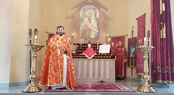 Divine Liturgy dedicated to the Feast of Commemoration of St. Gregory the Illuminator's torments and commitment to the pit